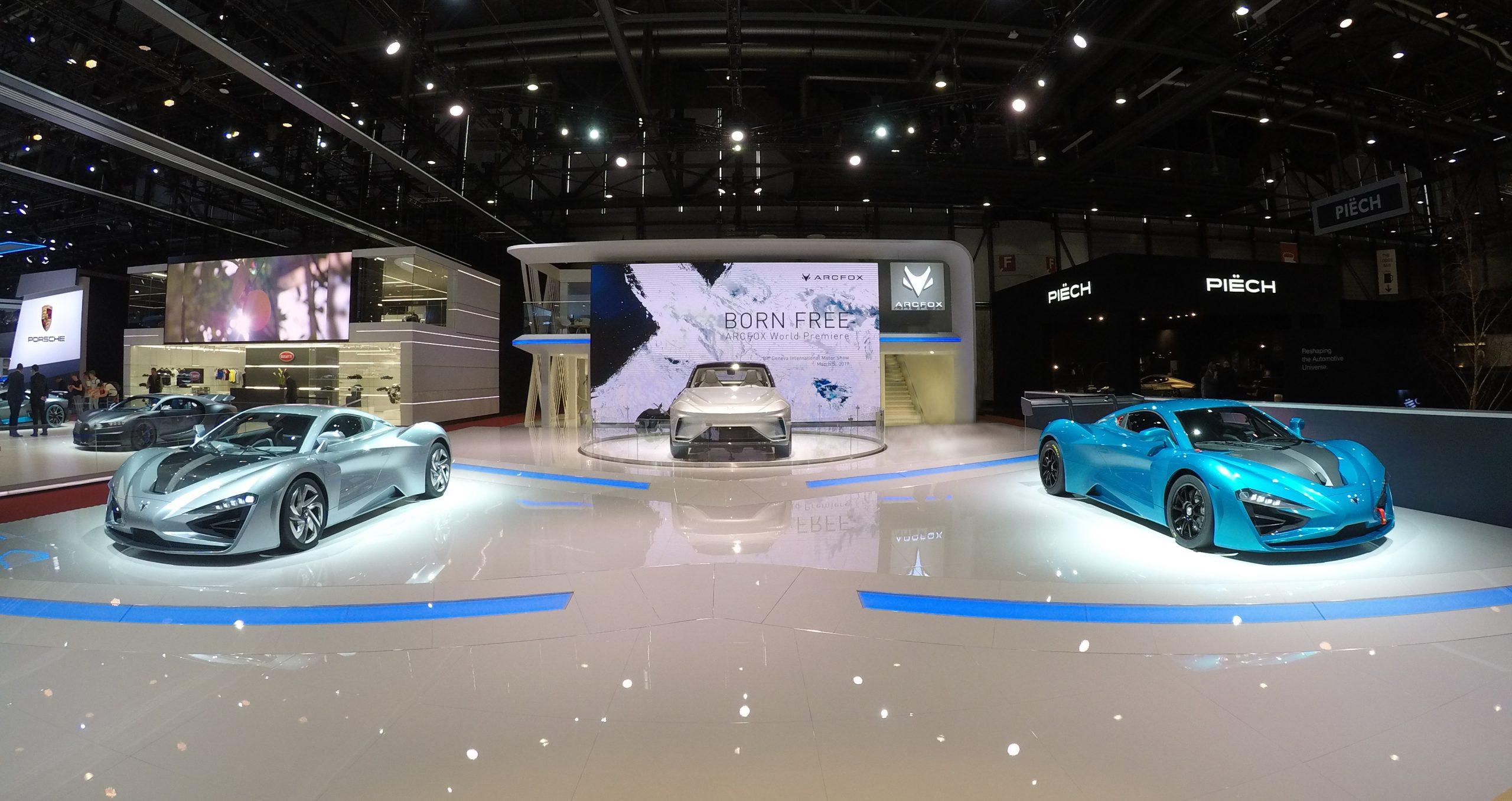 QEV TECHNOLOGIES EXHIBITING THREE CARS AT SHANGHAI MOTOR SHOW DEVELOPED AND PRODUCED FOR CHINESE CLIENTS, QEV