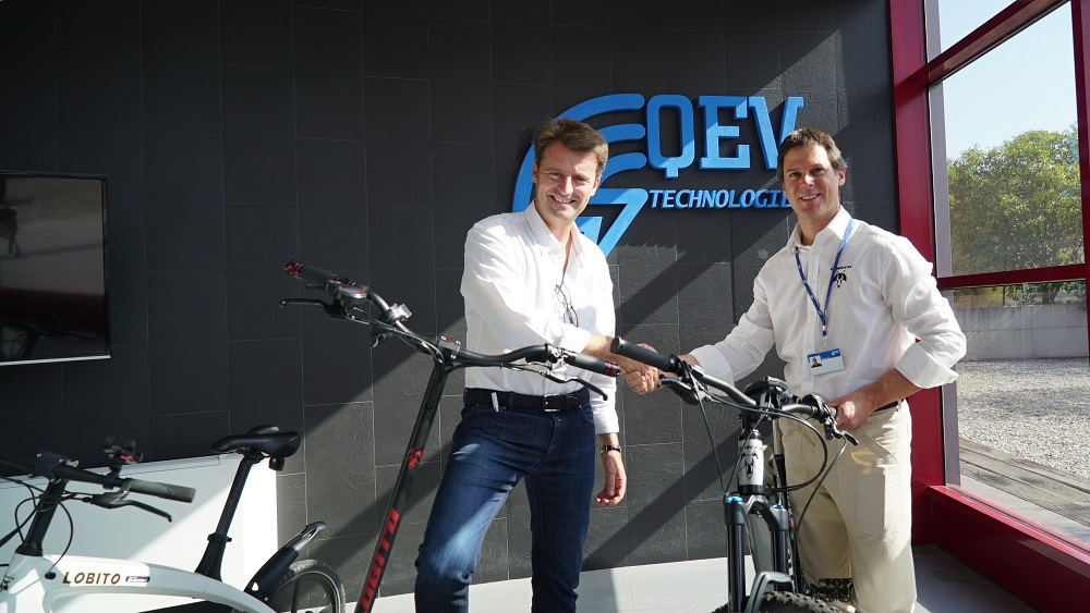 LOBITO LIFE S.L AND QEV TECHNOLOGIES S.L. TEAM UP TO DEVELOP NEW ELECTRIC MOBILITY PRODUCTS FOR LEISURE, QEV