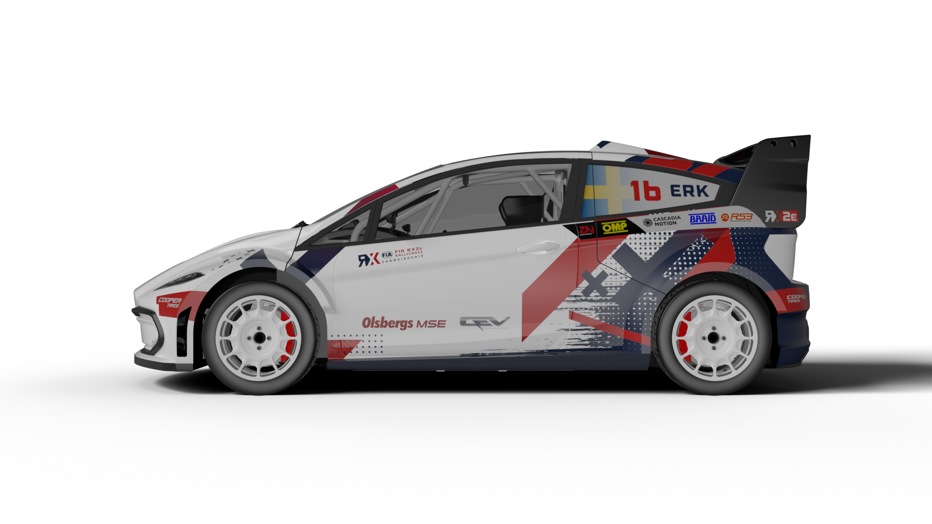 全新FIA RX2e Championship赛车正式发布, QEV