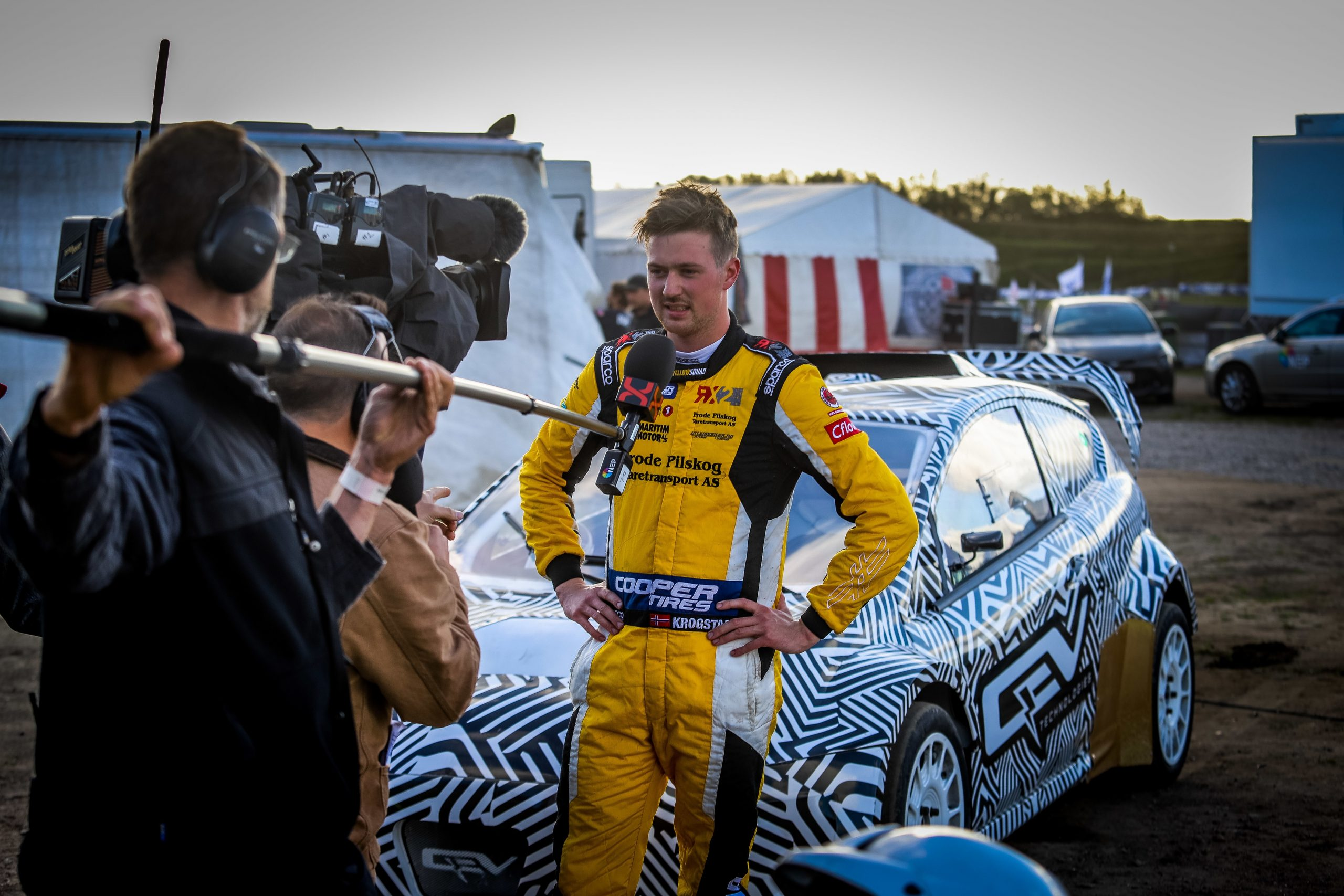 PRIZE DRIVE WINNER KROGSTAD TIPS RALLYCROSS' ELECTRIC ERA TO BECOME 'THE NEW GROUP B', QEV