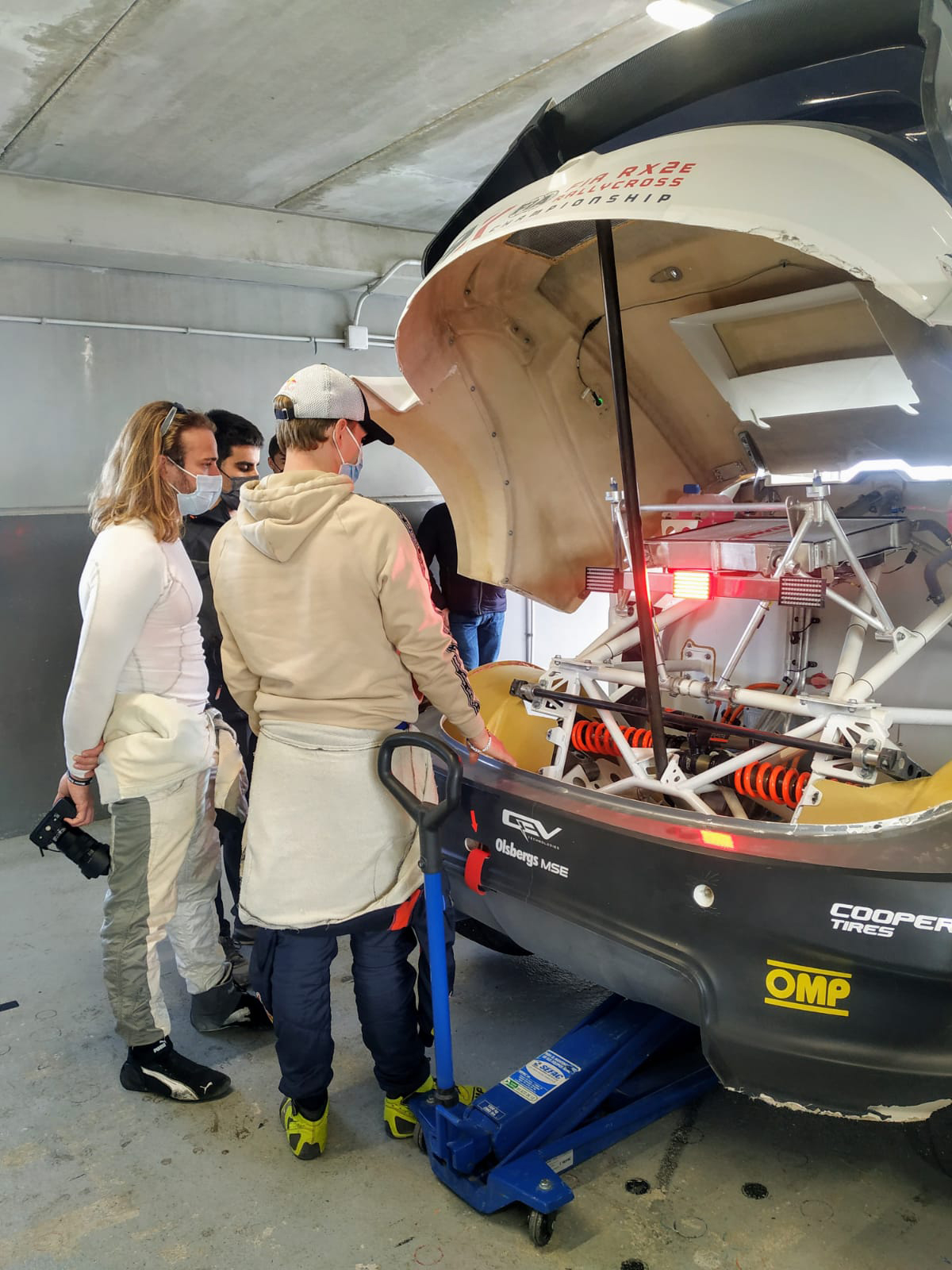 FIA RX2e Championship car receives seal of approval from motorsport big-hitters, QEV