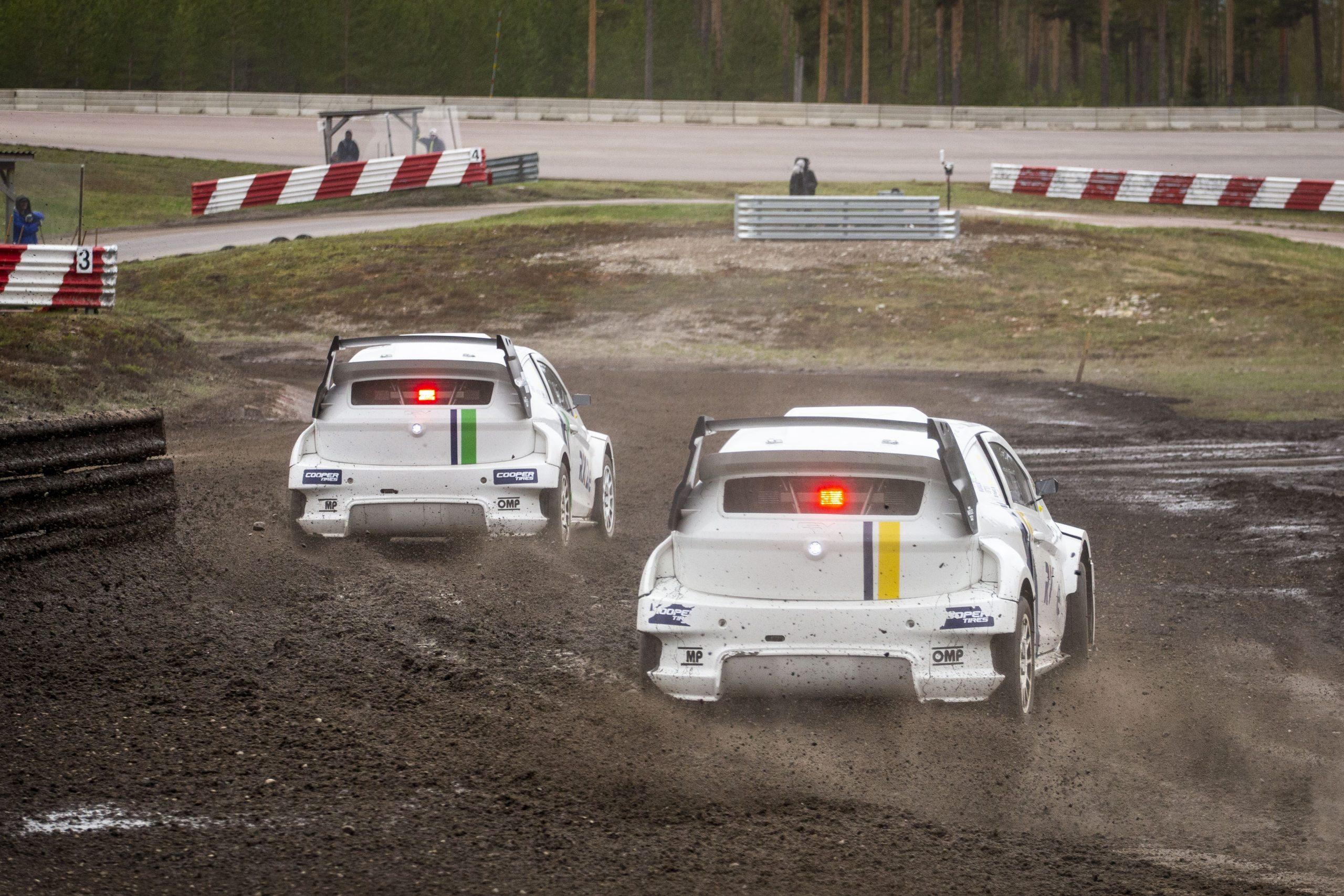 Timmy Hansen praises performance of FIA RX2e car after Höljes exhibition, QEV