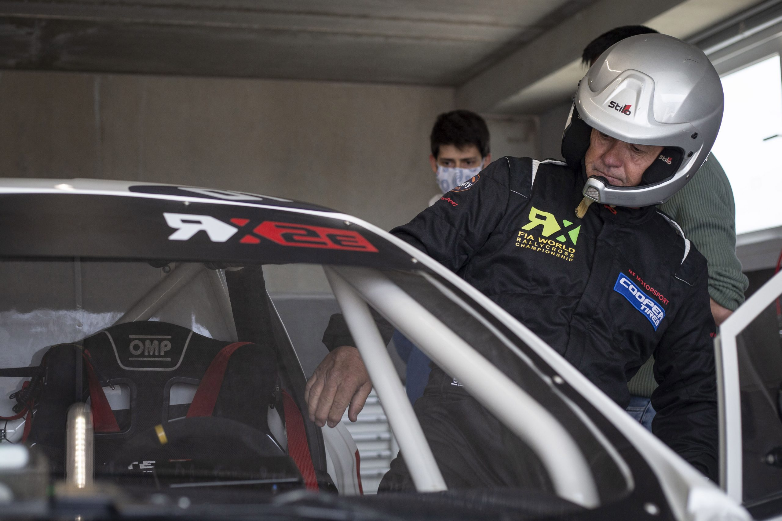 Flaherty enters the fray with British ace ready to push FIA RX2e car to the limit in Barcelona, QEV